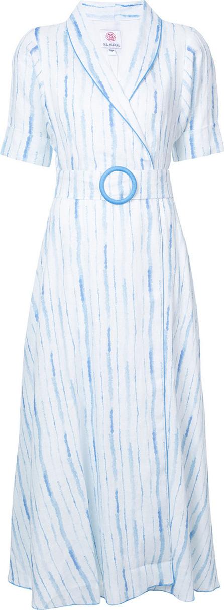 Gül Hürgel Wrap style belted dress