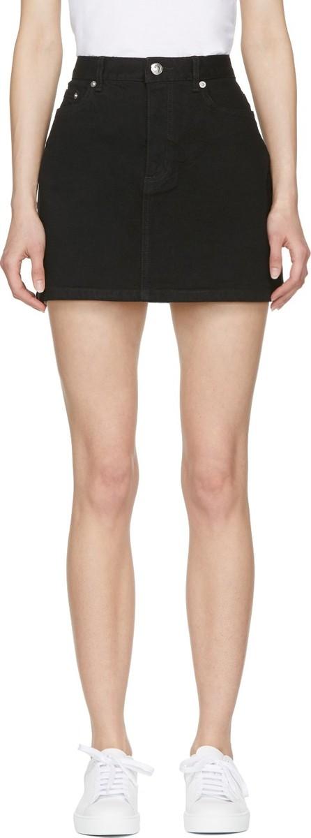 A.P.C. Black July Miniskirt