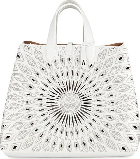 Alaïa Friday Large Lux Ceramique Tote Bag