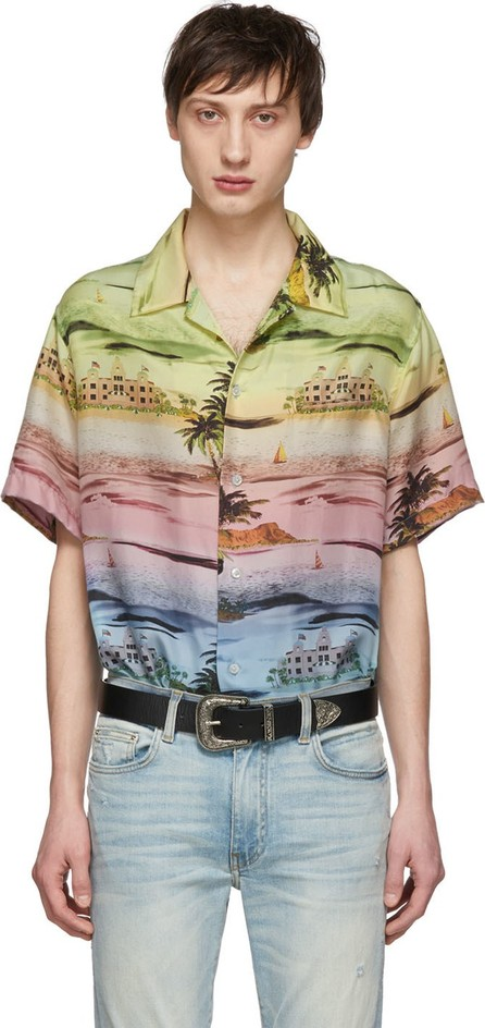 Amiri Multicolor Rainbow Beverly Hills Shirt