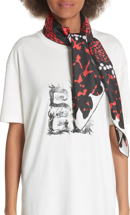 Givenchy 4G Patchwork Silk Scarf