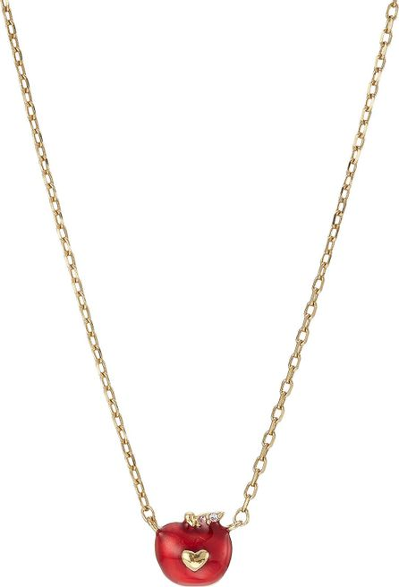 MARC JACOBS Apple Necklace with Crystal Embellishment
