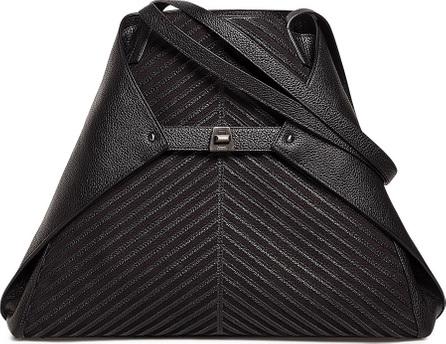 Akris Ai Medium Soft Leather Shoulder Bag
