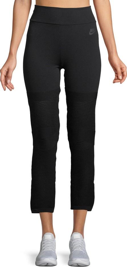 Nike High-Rise Knit Cropped Leggings
