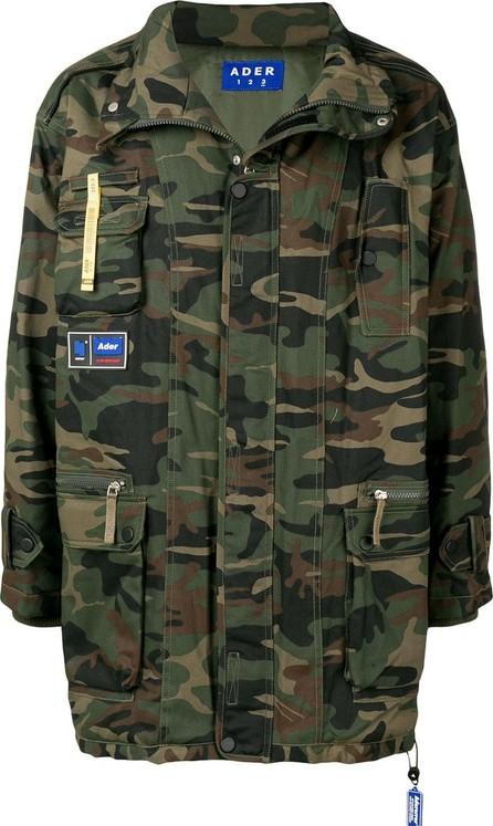 ADER error Camouflage print jacket