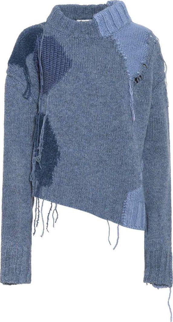 Acne Studios - Ovira patchwork wool-blend sweater