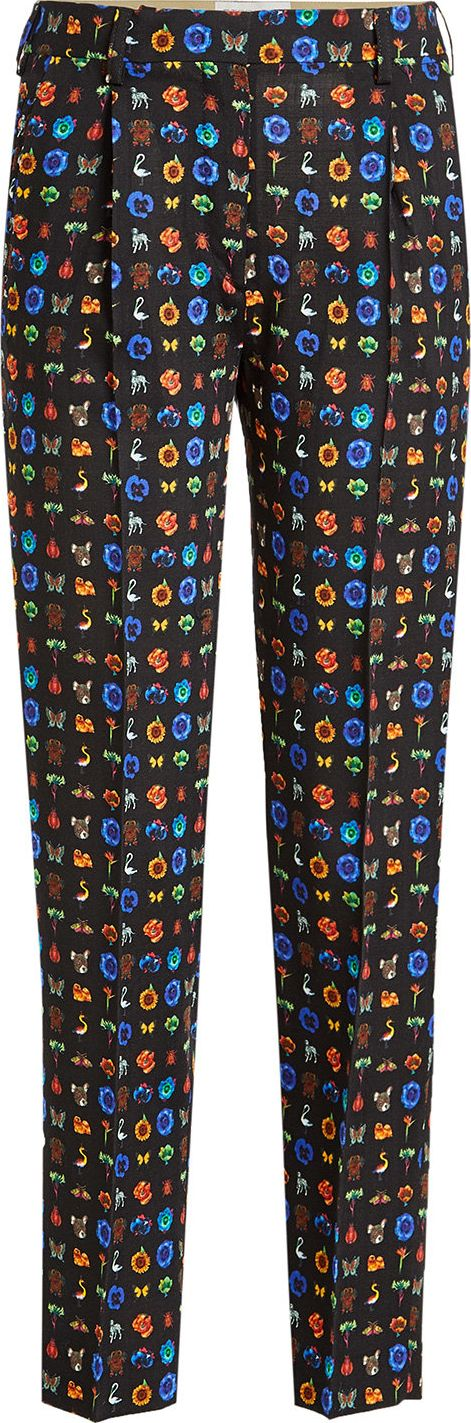 Etro - Printed Wool Pants