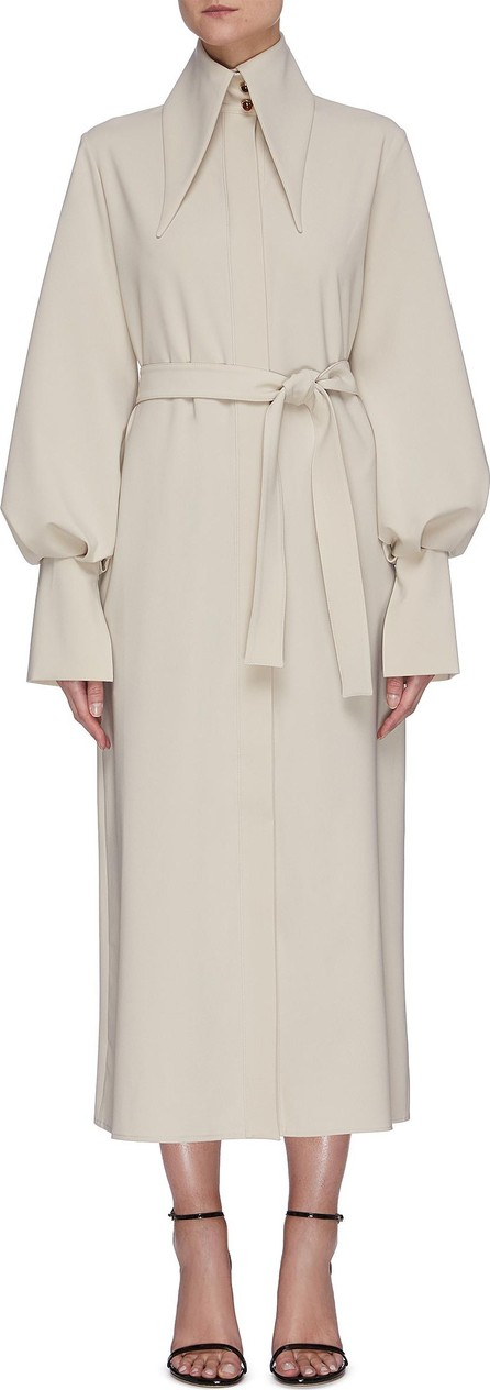 16Arlington ''''''Namika' oversized collar belted coat