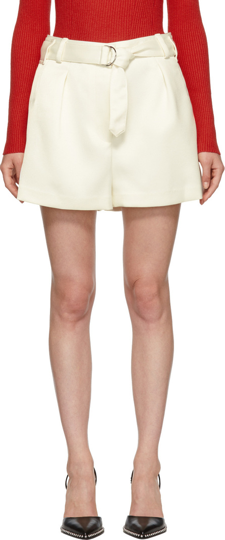 3.1 Phillip Lim White Military Origami Shorts