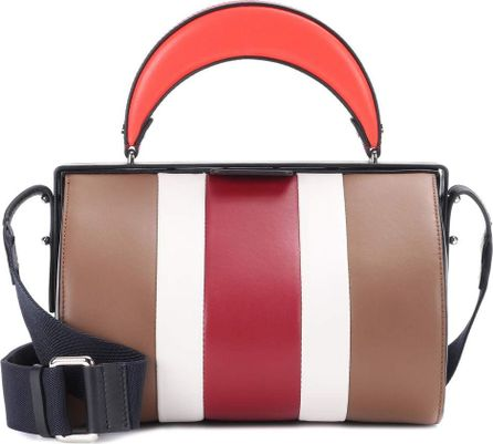Marni Duffle Tag leather shoulder bag