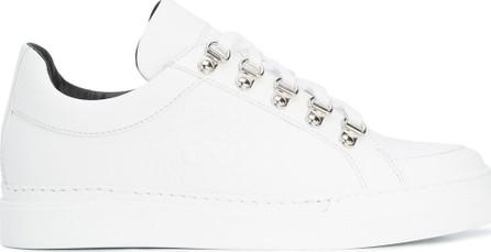 Balmain embossed low-top sneakers