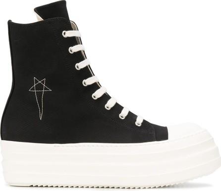 Rick Owens DRKSHDW High-top platform sneakers
