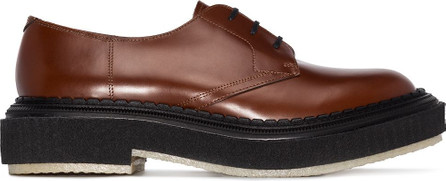 Adieu Paris Type 135 leather Derby shoes