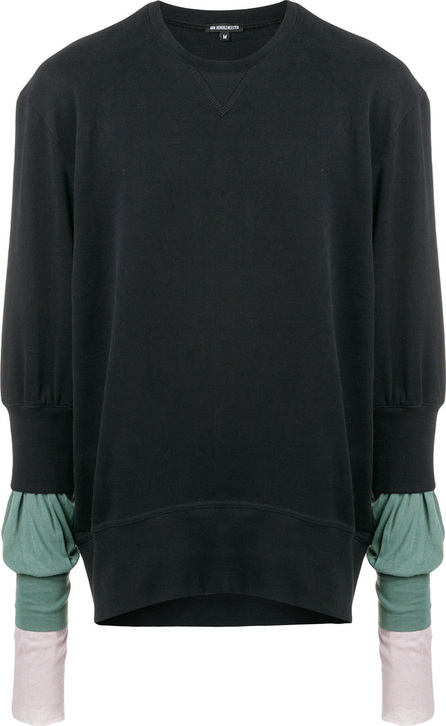 Ann Demeulemeester Contrast sleeves sweater