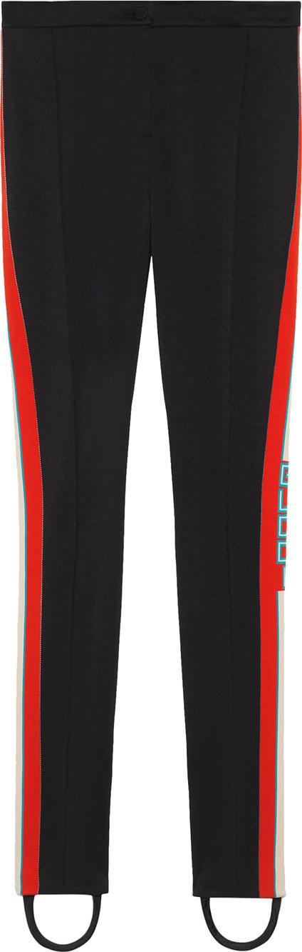 Gucci Technical jersey stirrup leggings