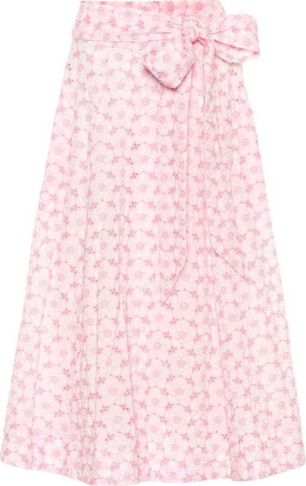 Lisa Marie Fernandez Cotton eyelet lace skirt
