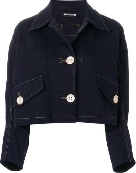 Miu Miu Cropped denim jacket
