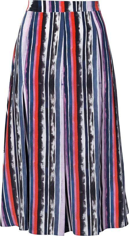 Prabal Gurung panel pleated skirt