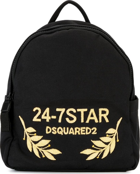 DSQUARED2 24-7 STAR logo backpack