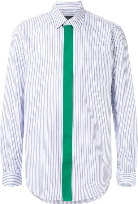 Stella McCartney Nicholas contrast-stripe shirt