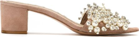Andrea Bogosian embellished open toe sandals