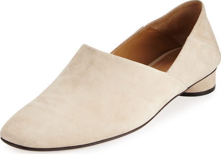 THE ROW Noelle Suede 30mm Flat