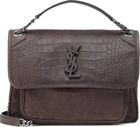 Saint Laurent Medium Niki Chain leather shoulder bag