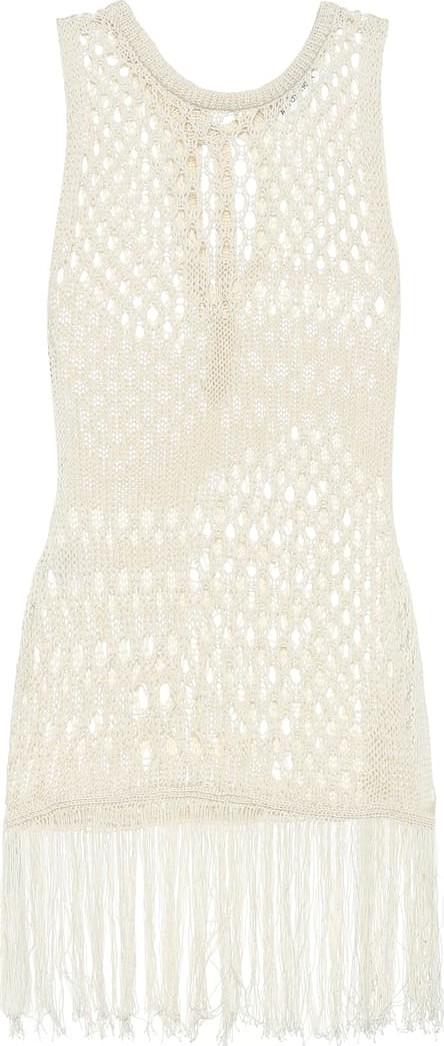 Altuzarra Carmela cotton-blend knit top