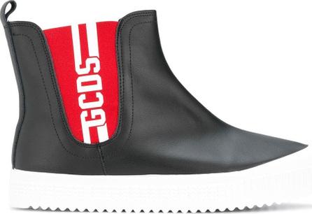 Gcds Logo hi-top sneakers