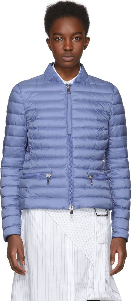Moncler Blue Down Blen Jacket