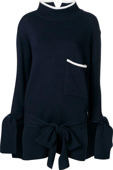 Eudon Choi hem & cuff knot jumper