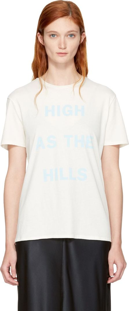 6397 White 'High as the Hills' T-Shirt