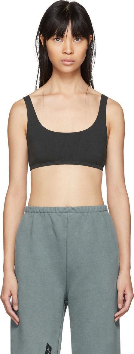 Yeezy Black Sports Bra