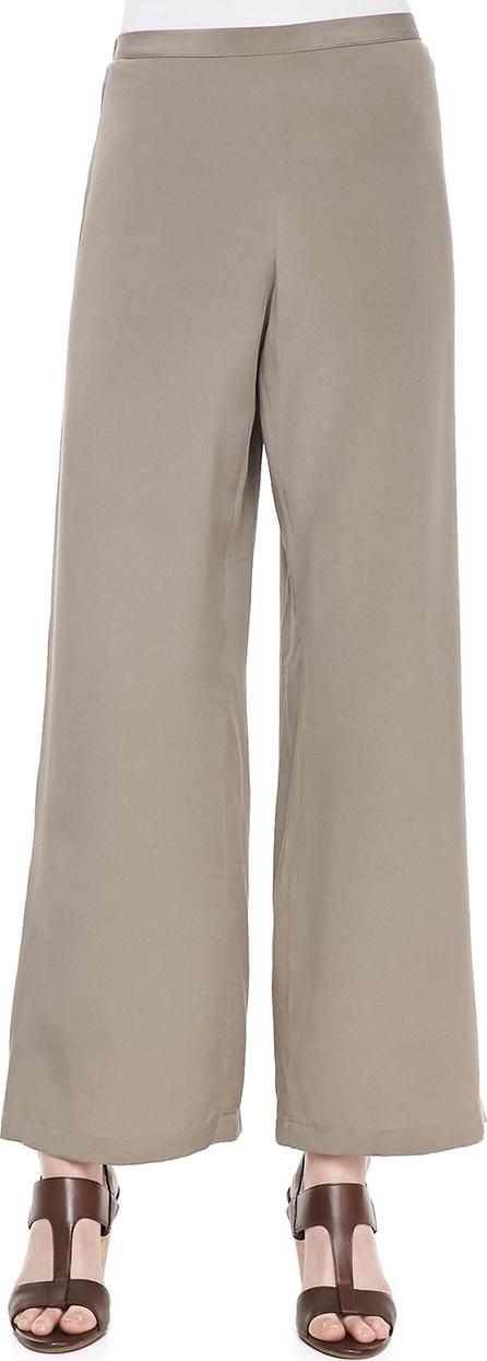 Go Silk Silk Wide-Leg Pants