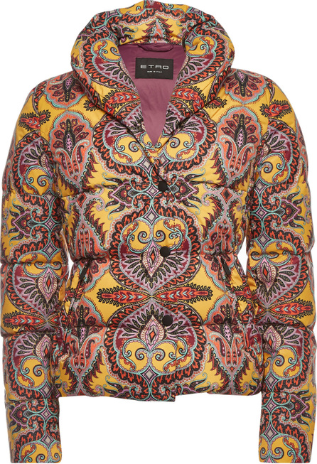 Etro Printed Down Jacket