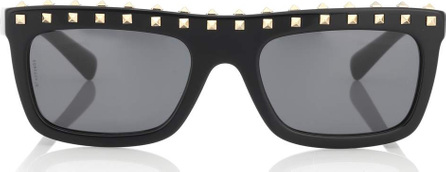 Valentino Studded acetate sunglasses