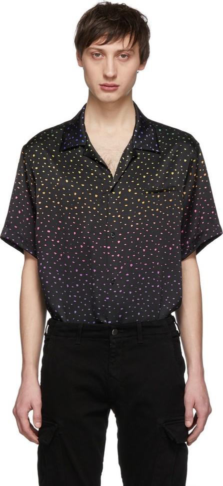 Amiri Black Rainbow Dotted Shirt