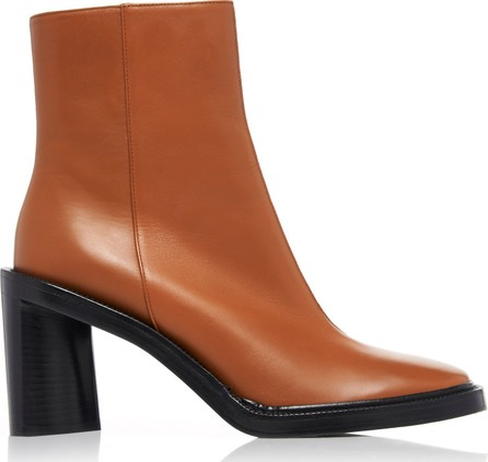Acne Studios Booker Two-Tone Leather Ankle Boots