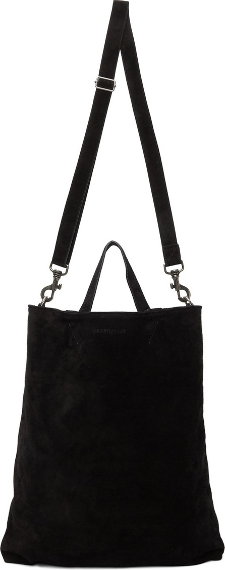 Ann Demeulemeester Black Suede Tote