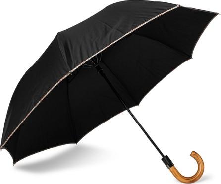 Paul Smith Wood-Handle Striped Umbrella