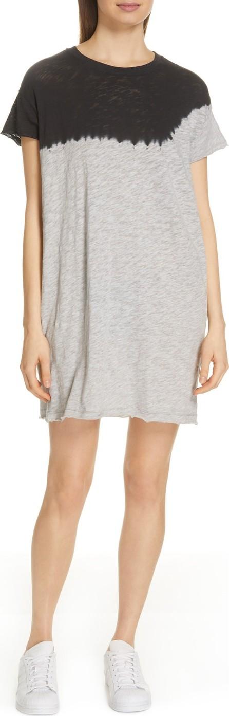 ATM Anthony Thomas Melillo Dip Dye T-Shirt Dress