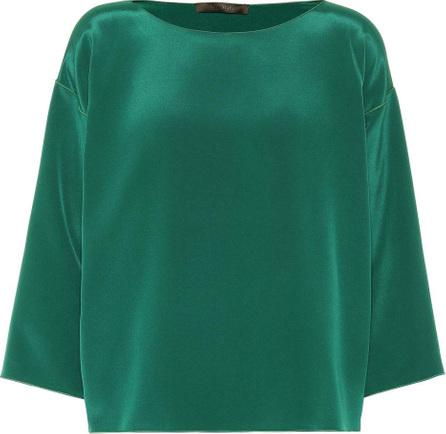 Max Mara Locri silk blouse