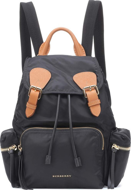 Burberry London England The Medium leather-trimmed backpack