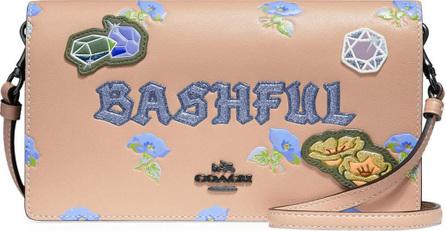 COACH 1941 DISNEY X COACH Bashful Fold-Over Crossbody Clutch Bag