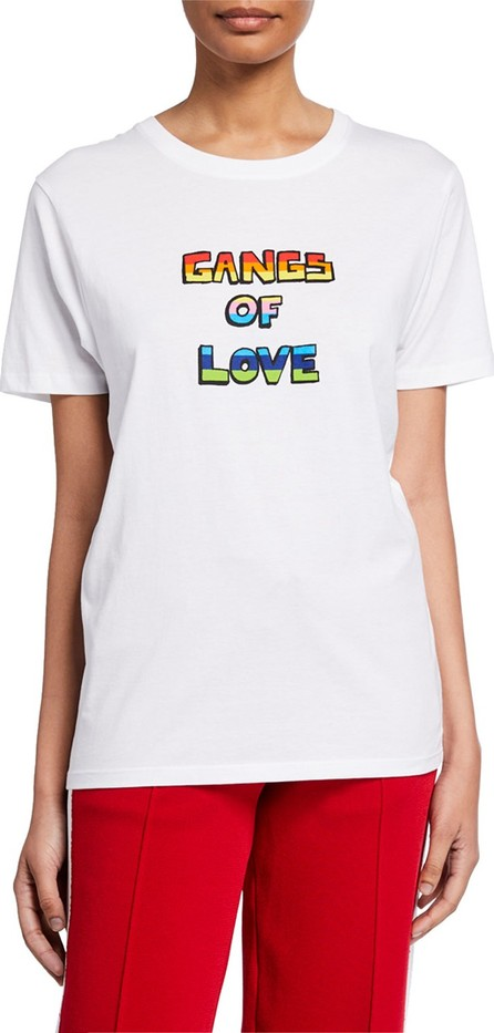 Bella Freud Gangs Of Love Graphic T-Shirt