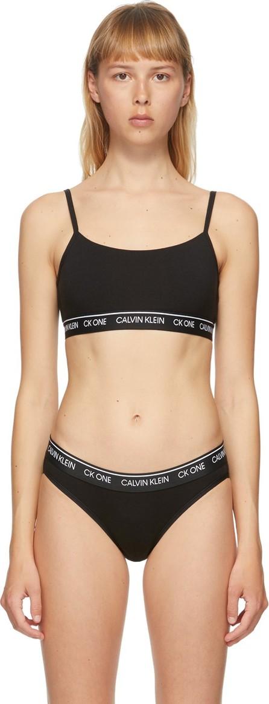 Calvin Klein Underwear Black 'CK One' Unlined Bralette