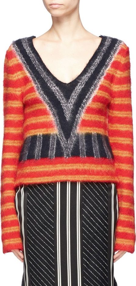 Aalto Stripe brushed sweater