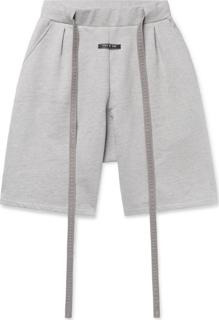 Fear of God Corduroy-Trimmed Fleece-Back Cotton-Jersey Drawstring Shorts