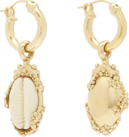 Ellery Rosalind shell-drop earrings