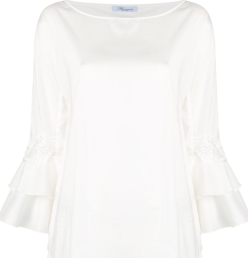 Blumarine - Frill sleeve blouse
